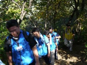弥彦登山2
